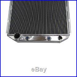 Aluminium Refroidissement Radiateur Pour 65-1966 Ford Mustang 5.0l V8 Conversion