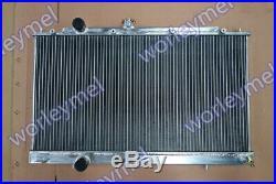 Aluminum Radiateur For Mitsubishi Lancer Evo 4 5 6 IV V VI CP9A CN9A 4G63T 2.0L