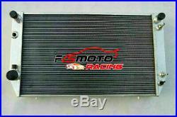 Aluminum Radiateur Pour Jaguar XJ-S XJS XJ12 XJ-12 V12 5.3L/6.0L HE 1976-1996