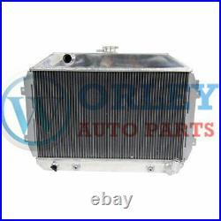 Aluminum Radiateur for Datsun 240Z/260Z L24/L26 1970 1971 1972 1973 1974 1975