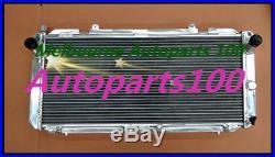 Aluminum Radiateur radiator For Toyota MR2 SW20 3SGTE MT 1990-1997 2 Row