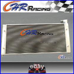 Aluminum radiator + Fan for VW Golf 2 & Corrado VR6 Turbo Manual