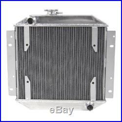 Amélioré 3 Rangées 56mm Radiateur Aluminium pour Ford Escort 1971-1980 Manuel