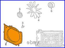BMW 3 E46 Refroidissement Moteur Ventilateur Housse 17111436259 2.2 Essence Neuf