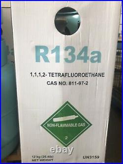 Bouteille G A S Fluide Frigorigène R134A 12kg LINDE / Sans Licence Sans Reso