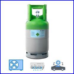 Bouteille Gaz Fluide Frigorigène R134A 12 KG Climatisation Voiture Charge Évent