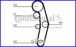 CONTITECH Kit de distribution avec pompe à eau Pour AUDI A3 SEAT LEON CT1028WP3