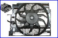 Cadre + Ventilateur de Climatisation (3 broches) électrique BMW Série 5 E39 1998