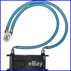 Clio 3 RS 1 kit radiateur d'huile Setrab-Mocal en 16 rangées