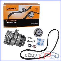 Contitech Kit De Distribution + Febi Pompe Eau Audi A3 8p 2.0 Tfsi 04-13