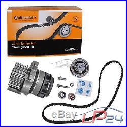 Contitech Kit De Distribution + Febi Pompe Eau Audi Tt 8j 2.0 Tfsi 06-10