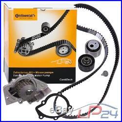 Contitech Kit De Distribution + Pompe Eau Peugeot 206 2.0 Hdi 00
