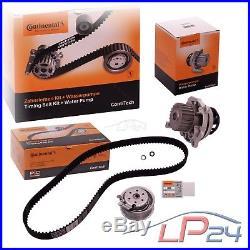 Contitech Kit De Distribution + Pompe Eau Vw Bora Golf 4 1j 1.6