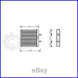 Échangeur Thermique Chauffage Intérieur Iveco Daily III Choisir/Châssis Boîte /