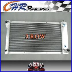 FOR 3ROW Aluminum Radiator 1967 -1972 68 Chevy C10 C20 K10 K20 K30+ SHROUD+FANS