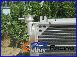 FOR NISSAN Patrol GQ 2.8 4.2 DIESEL TD42 & 3.0 PETROL Y60 Radiator+RED HOSES