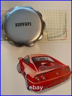 Ferrari F355, bouchon réservoir essence métal origine ferrari, 348, 355 etc