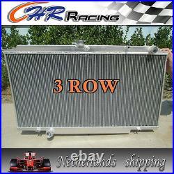 For 3row Nissan Patrol Y61 Gu 2.8 / 3.0 Td Aluminum Radiator Manual 97-01 98 99