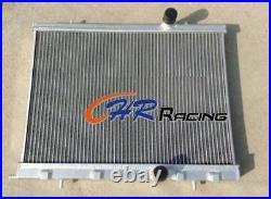 For ALUMINUM RADIATOR PEUGEOT 206 GTI/RC 180 1999-2008 00 01 02 03 04 05 06 07