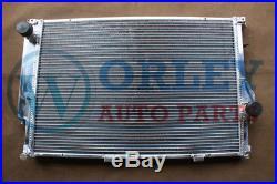For BMW 5 radiator E34 M5 530i/535i & 7 E32 730i/730iL/735i/735iL Aluminum MT