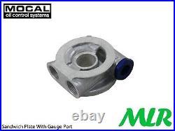 Ford Focus MK1 2.0 St ST170 Rs Nylon Tressé Tuyau Refroidisseur Huile Moteur Kit