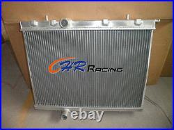 HIGH QUALITY Aluminum radiator for PEUGEOT 206 2.0L GTI RC S16 Manual