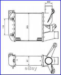 Intercooler, échangeur de 96 à 04 OEM 2246031