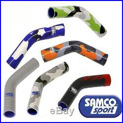 KAW-25 compatible avec Kawasaki ZX 10 R 08-10 Samco Premium Rad Durites & Clips