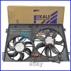 Kale Ventilateur de Radiateur Double Refroidissement Moteur Pour Audi Tt 8J3