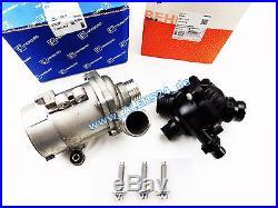 Kit Behr Mahle Thermostat + PIERBURG Électrique Pompe à L'Eau BMW E81 E60 E90