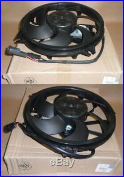 Kit De Ventilateurs Radiateur Citroen / Peugeot 2.2/2.7 Hdi (oe 1253k5 1253k6)