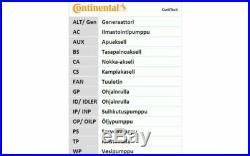 Kit de distribution+pompe à eau Saab 9-3 1.9 TTiD 1.9 TiD CONTITECH