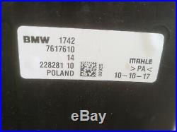 Linceul avec Ventilateur BMW 1 F48 2 F45 F46 1742 7617610 comme Neuf