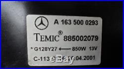 Mercedes-Benz Classe ML W163 270 CDI Radiateur Ventilateur Refroidissement