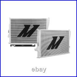 Mishimoto Performance 2 Rangée Complet Aluminium Radiateur Kit For 01-06 BMW E46