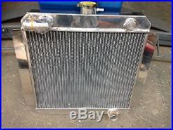 Mk1 Mk2 Escort Pinto radiateur alliage, 50mm double coeur modèle, course rallye RS