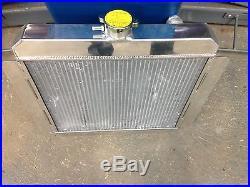 Mk1 Mk2 Escort x-flow radiateur alliage, 50mm double coeur modèle, course rallye