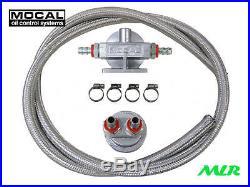Mocal Télécommandé Kit Filtre à Huile Rover V8 Série K KV6 13/16UNF 3/4UNF M20
