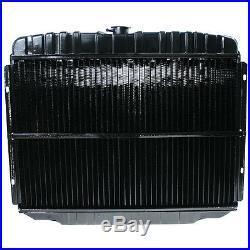 Mustang Radiateur 3-row Selle Montage 289/302/351w avec A/C 1968-1969