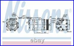 NISSENS Compresseur de climatisation 12V pour AUDI TT A3 FORD GALAXY 89224