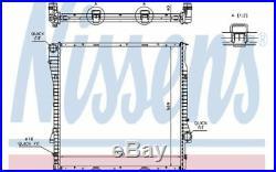 NISSENS Radiateur moteur 60787A pour BMW X5