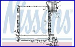 NISSENS Radiateur moteur pour MERCEDES-BENZ VITO 62561A Mister Auto