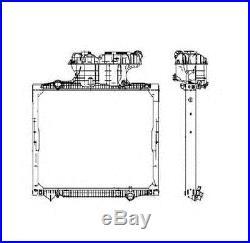 NRF 50588 Radiateur, refroidissement du moteur