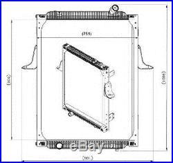 NRF 539700 Radiateur, refroidissement du moteur