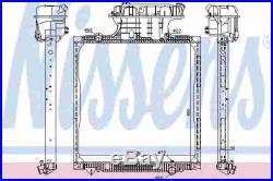 Neuf Nissens Radiateur D'eau Refroidissement 62873 Oe Qualité