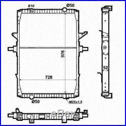 Neuf Nrf Radiateur D'eau Refroidissement 519709 Oe Qualité