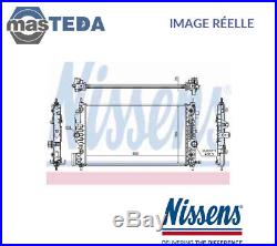 Nouveau Nissens Radiateur D'eau Refroidissement 630762 Oe Qualité