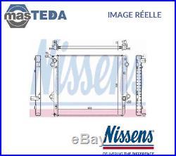 Nouveau Nissens Radiateur D'eau Refroidissement 646803 Oe Qualité