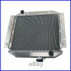 Noyau à 2 rangées Aluminium Radiateur Pour FORD ESCORT 1971-1980 AUTO/MANUAL