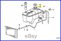 Original BMW E30 E36 S50 M20 M21 Vase Expansion Liquide de Refroidissement